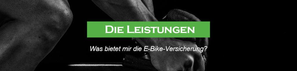 Leistungen einer E-Bike Versicherung